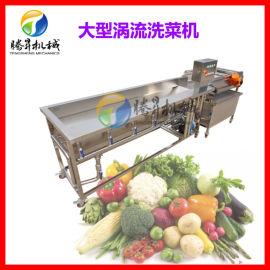 蔬菜生产线设备 清洗风干线 果蔬涡流清洗机