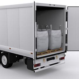 集装箱出口吨袋 鹅卵石吨袋 集装袋按尺寸定做吨袋