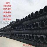 波纹管HDPE双壁波纹管排污管PE排水管