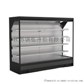 超市冷藏展示柜,水果风幕柜,蔬菜保鲜柜,展示冰柜