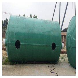 成品隔油池 广安玻璃钢污水化粪池