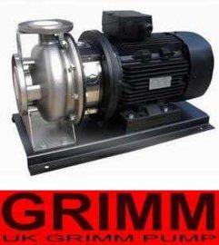 进口不锈钢卧式单级离心泵(欧美进口品牌)