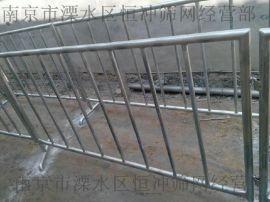 不锈钢铁马 移动安全围栏 商场促销隔离栏 不锈钢护栏路建