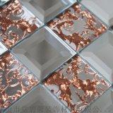湖南新化款式齊全的玻璃鏡面馬賽克背景牆生產廠家直銷