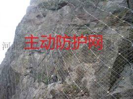 sns柔性主动防护网 山体防护网厂家
