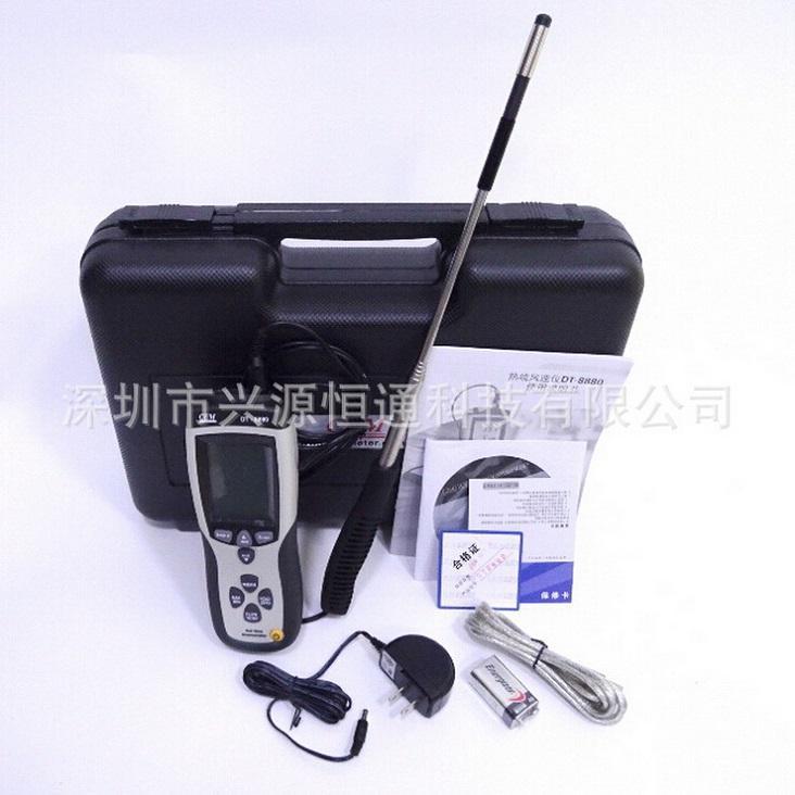 CEM华盛昌DT-8880热敏式风速计热线式风速仪