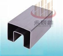 永辰鑫不锈钢异型管、槽管、制品管家具管。旗杆