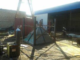 水泥仓顶单机布袋除尘器