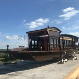 木船厂家出售博物馆道具红船发扬红船精神嘉兴南湖红船