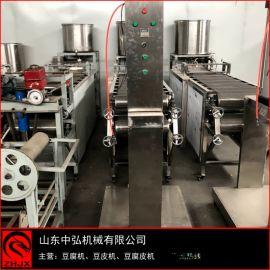 豆腐皮机免费培训技术 东北干豆腐机操作流程