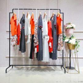 欧美大码女装她衣柜加盟实体店女装尾货货源女式羽绒服女装外贸