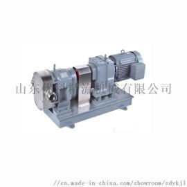 优科精流专业生产凸轮转子泵