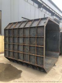 三级沉淀渗透化粪池模具,中泽化粪池钢模具新型号