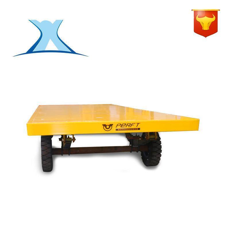 车间物料运输四轮 拖车 低平板拖车加工