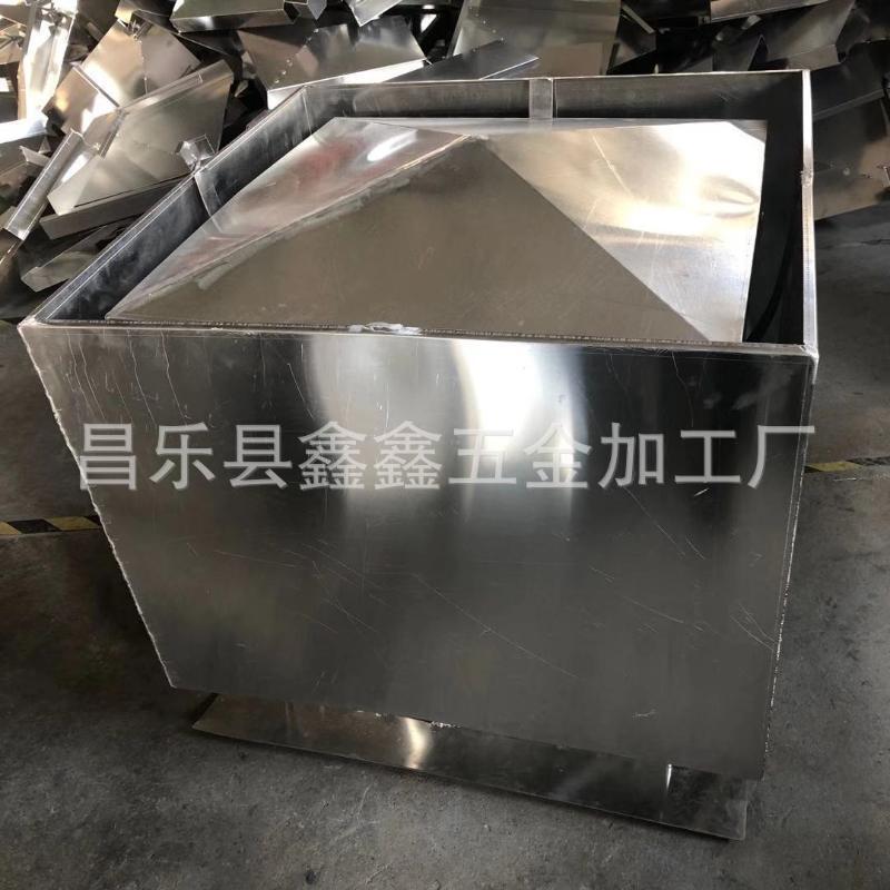 铝合金C系列防倒灌烟囱帽加工