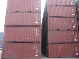 七八成6米二手集装箱,船退役20英尺旧货柜