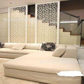**酒店通用鍍色屏風加工定制鐳射鏤空不鏽鋼簡易屏風