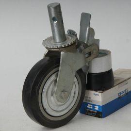 塑芯橡膠腳輪