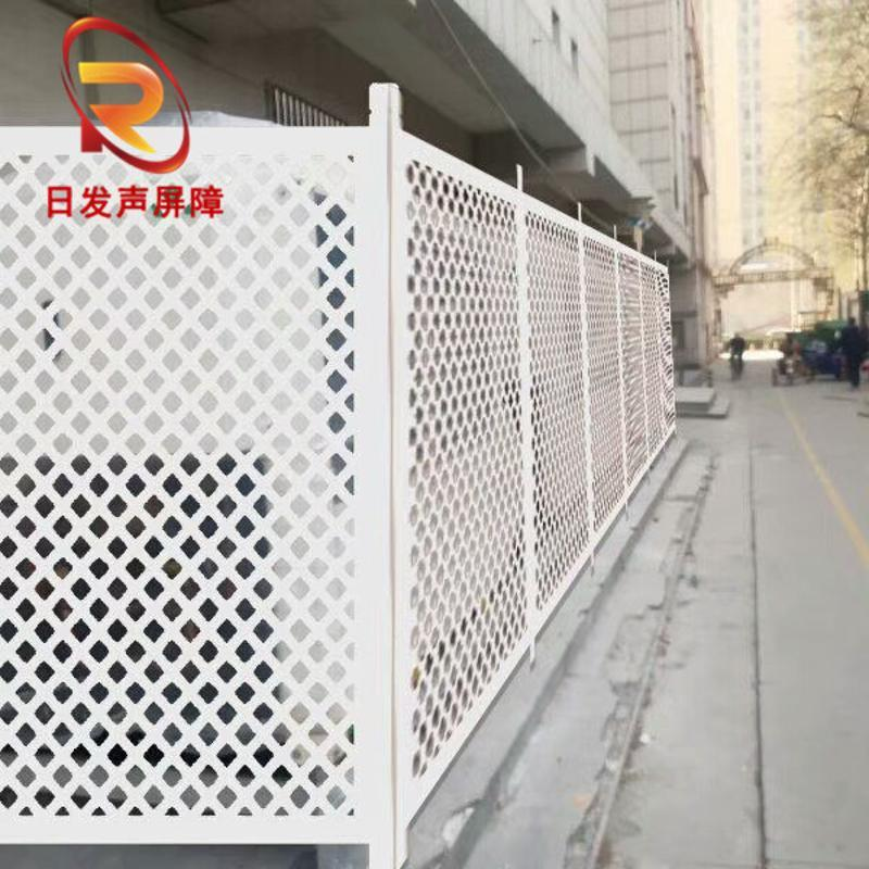 大量批發隔音棉防噪音圓孔衝孔網聲屏障金屬衝孔網建材
