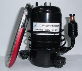 ACXZ28DC微型压缩机,直流24V,12V, 48V通用,300W制冷量,微型制冷系统用
