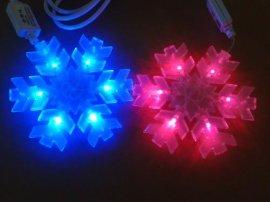 LED雪花灯