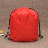 紅色滌綸袋束口袋牛津布袋定制logo收納袋禮品袋