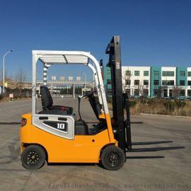 山东平衡重叉车厂家 电动堆高车载重一吨两吨
