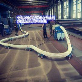青岛万浩移动式 桥面 混凝土 铁板除锈抛丸机