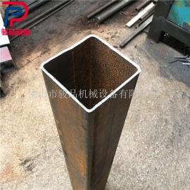 方扁管快速切断机 角钢槽钢下料模具 管材冲断设备