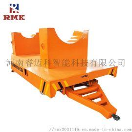 定制台面叉车牵引无动力平板车拖拉机牵引平车
