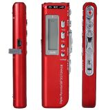 CM-020外貿錄音筆 mp3錄音筆 紅色 內置鋰電 4G/8G