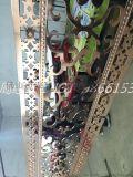 邵武市豪华装饰铝雕花屏风订做 土豪金颜色屏风