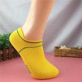 夏季护跟运动短筒袜子 全棉吸汗跑步袜 时尚情侣袜子
