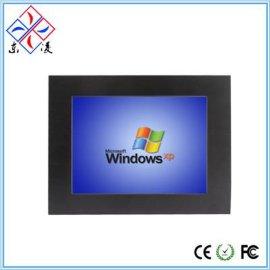 厂家直销12.1寸/12寸Win7 WindowsXP工业平板电脑触摸触控工控一体机防水防尘