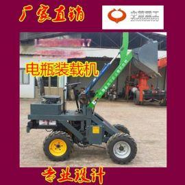 贵州中首重工电动装载机电动铲车厂家60v直流电压动力