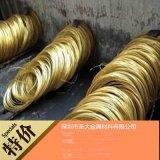 黄铜线 深圳黄铜线价格 H65欧盟环保黄铜线