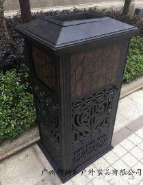 杭州室外铸铝垃圾桶