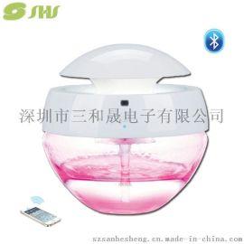厂家供应多功能空气净化水净器音响灯无线蓝牙音响台灯