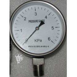 不锈钢膜盒压力表/膜盒压力表/不锈钢精密膜盒压力表/不锈钢膜盒压力表厂家价格