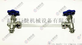 不锈钢玻璃管液位计 卫级液位计外螺纹玻璃管液位计