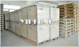 业丰厂家销售可拆卸胶合木箱/钢带箱