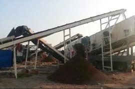 恒美百特厂家反击式移动破碎机建筑垃圾破碎机优惠价格