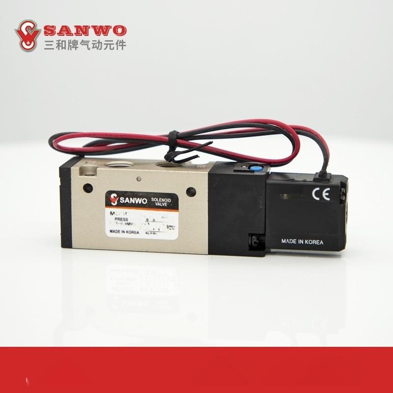 三和电磁阀 SVZ5120 韩国进口二位五通电磁阀