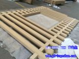 武汉铝管型材 140x44铝方通 扁管铝型材定制