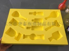 东莞骏泰供应**瓶包装EVA内托,一次雕刻成型EVA包装盒