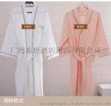 夏季男女纯棉浴袍