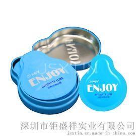 避孕套包装盒 **用品马口铁盒 护垫小铁罐