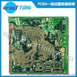 深圳宏力捷提供4层工控电路板抄板打样_PCBA代工代料