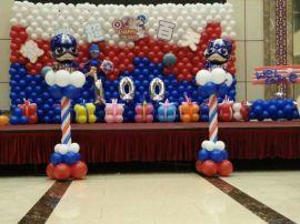 南充**宴气球布置、南充满月宴气球制作、南充百日宴气球、南充气球创意制作151-8297-8140