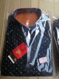 地攤展會秋冬款格子襯衫 加絨加厚男士保暖襯衫